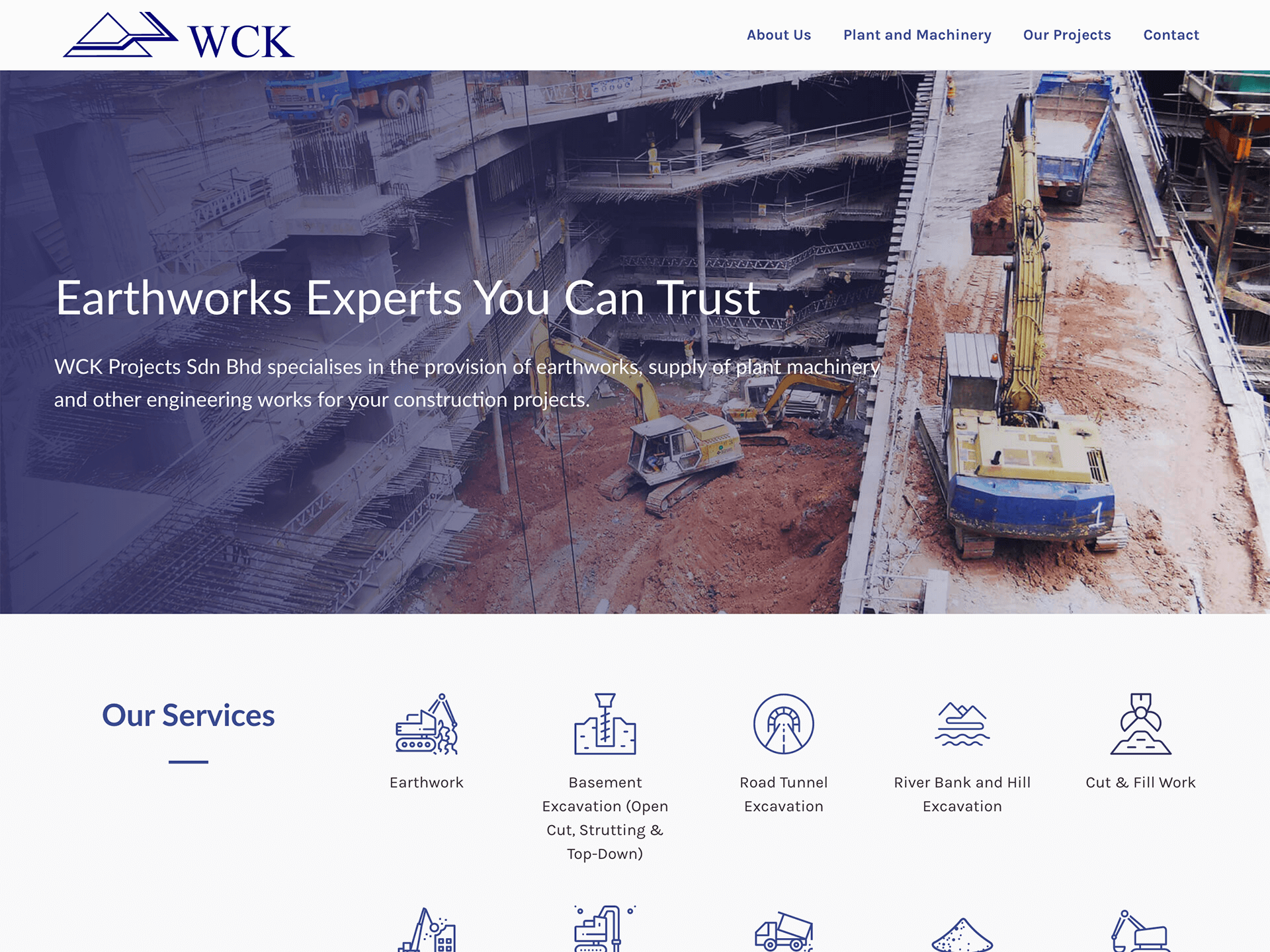 WCK Projects website